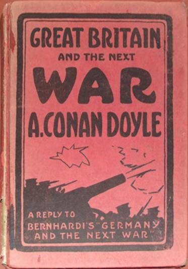 Обложка книги «Великобритания и будущая война» arthur-conan-doyle.com - Конан Дойл и броня Первой мировой | Военно-исторический портал Warspot.ru