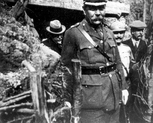 Артур Конан Дойл на фронте, 1916 год arthurconandoyle.com - Конан Дойл и броня Первой мировой | Военно-исторический портал Warspot.ru
