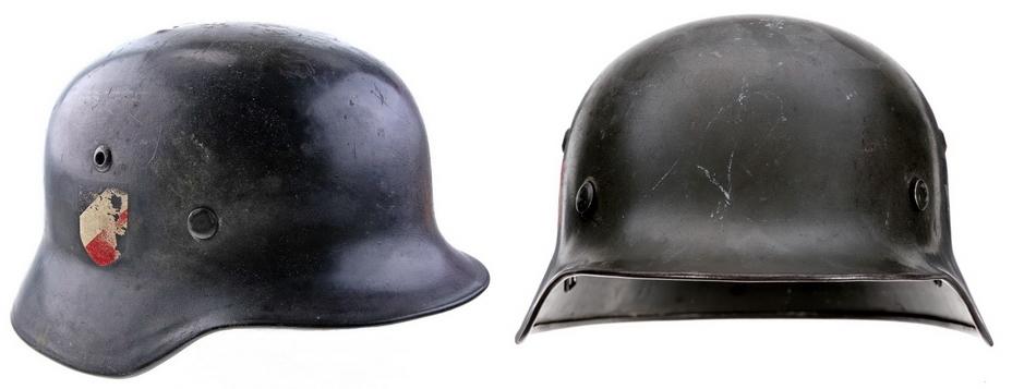 Немецкий стальной шлем образца 1935 года - Чья каска была лучше?   Warspot.ru
