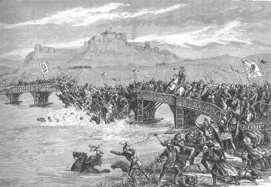 a description of william wallace who led his people in battle to defeat the english William wallace and his men - with only minimal losses to contend with - successfully crossed the river forth and captured the strategically vital stirling castle it was the decisive battle in forcing the english completely out of scotland as far south as berwick there was one great tragedy for william.