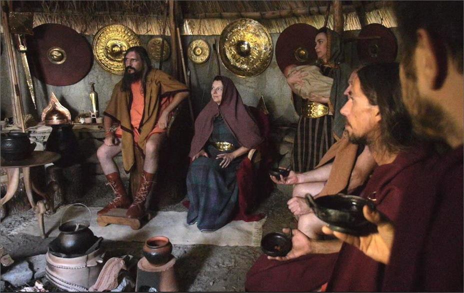 Римское жилище царского периода и его обитатели, современная реконструкция
