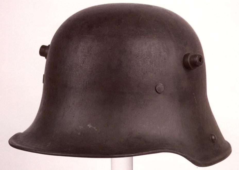 Стальной шлем образца 1916 года. - От «пикельхаубе» к «штальхельму» | Warspot.ru