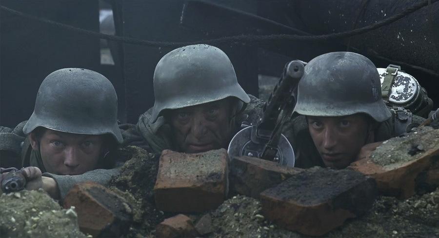 Сексуальные кадры из фильма сталинград
