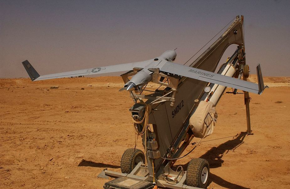 ​Беспилотник ScanEagle на пусковой установке. armyrecognition.com - Чехия вооружается американскими беспилотниками | Военно-исторический портал Warspot.ru