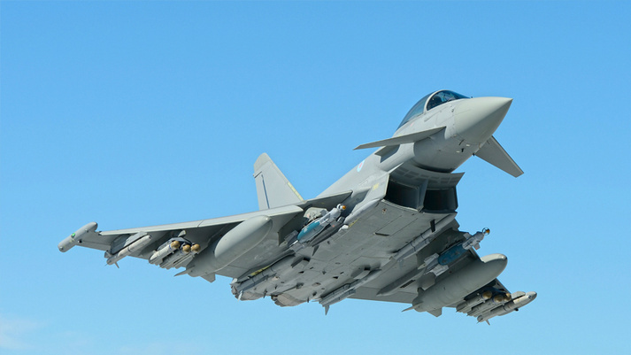 ​Истребитель Eurofighter Typhoon. eurofighter.com - Катар потратит $8 млрд на «Тайфуны» | Warspot.ru
