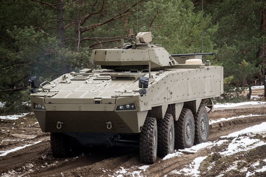 ​Прототип Patria AMV XP для ВС Словакии. armyrecognition.com - Словаки «похвастались» новой «Патрией» | Военно-исторический портал Warspot.ru