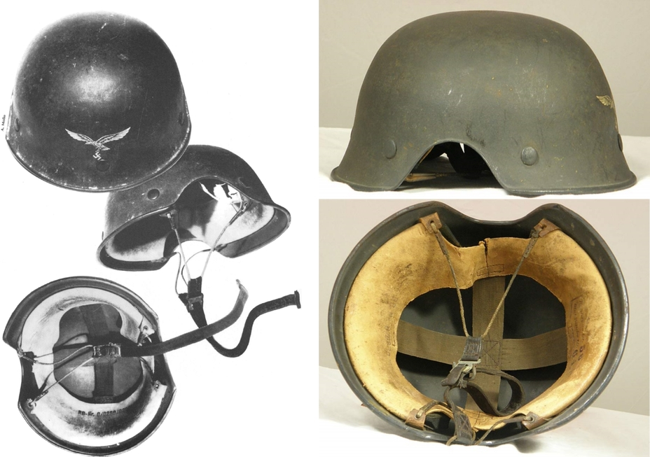 ​Fliegerstahlhelm 44 (Ludwig Baer. The History Of The German Steel Helmet 1916-1945) - Стальной шлем для «сталинских соколов» | Военно-исторический портал Warspot.ru