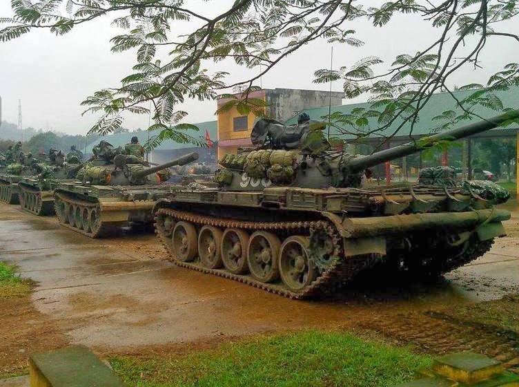 Танки Т-54/55 вьетнамской армии. facebook.com/NowaTechnikaWojskowa - Танки Т-54/55 ещё послужат | Военно-исторический портал Warspot.ru