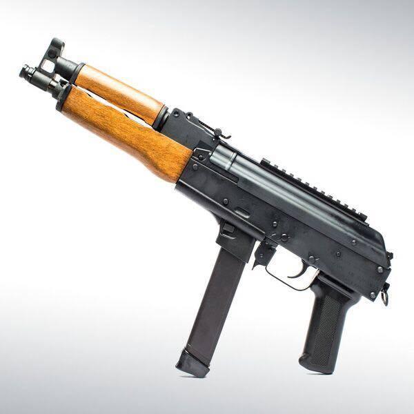 Пистолет-пулемёт AK-Draco NAK9. centuryarms.com - Американцы скрестили АК и Glock | Военно-исторический портал Warspot.ru