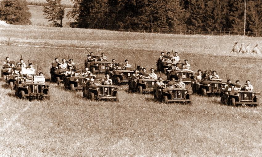 Патруль «Истребительного отряда дальнего действия №1», или «Частной армии Попского»