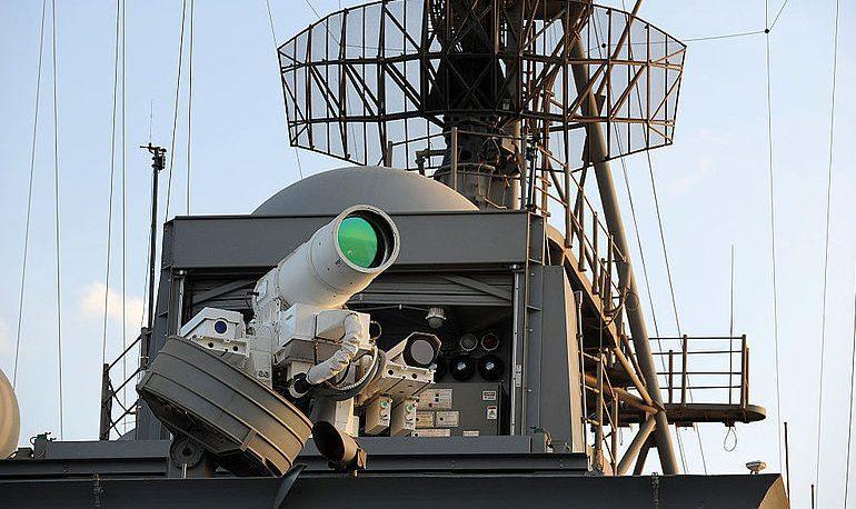 Опытный образец лазерного оружия на борту американского корабля. navaltoday.com - Лазер для американского эсминца   Военно-исторический портал Warspot.ru