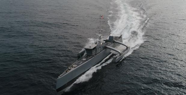 Беспилотный тримаран Sea Hunter. usni.org - Американский флот получил «Морского охотника» | Военно-исторический портал Warspot.ru
