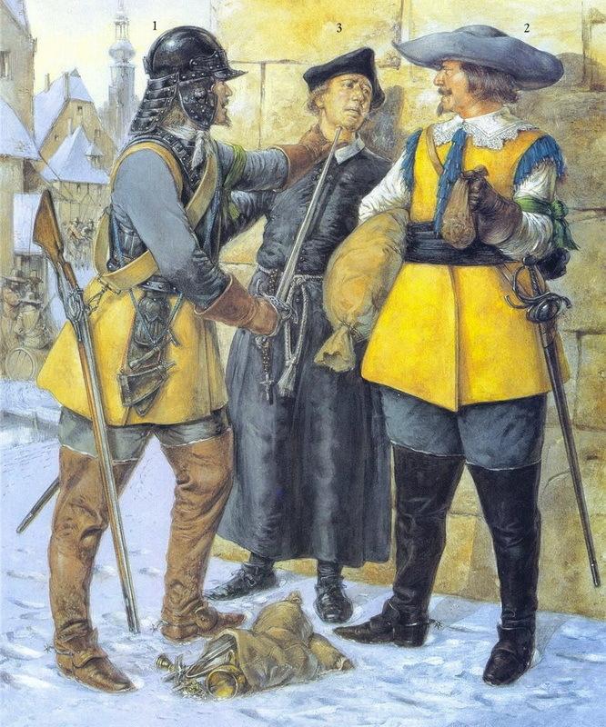 Шведские солдаты в Тридцатилетней войне (1618—1648) - Страсти по Данцигу | Warspot.ru