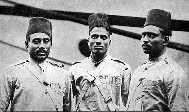 Группа Моплских стрелков, 1902 год