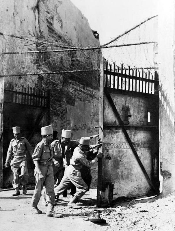 Мадрасские сапёры во время Бирманской кампании, 1945 год