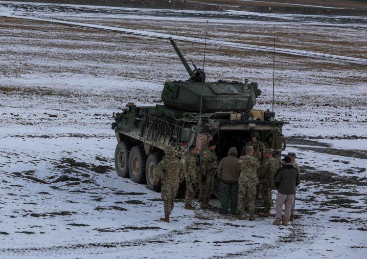 Stryker ICVD в Германии. defence-blog.com - «Страйкеры» с пушками уже в Европе | Warspot.ru