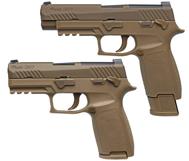 M17 в полноразмерном и укороченном (М18) вариантах. kitup.military.com - Американские морпехи вооружатся новыми пистолетами | Warspot.ru