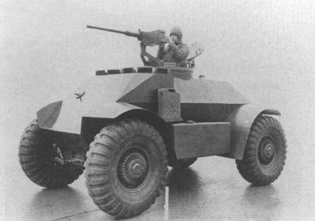​Макет бронемашины Т115 — конкурента Т114. Hunnicutt R.P. Armored Car: A History of American Wheeled Combat Vehicles - Бронированная альтернатива джипу | Warspot.ru