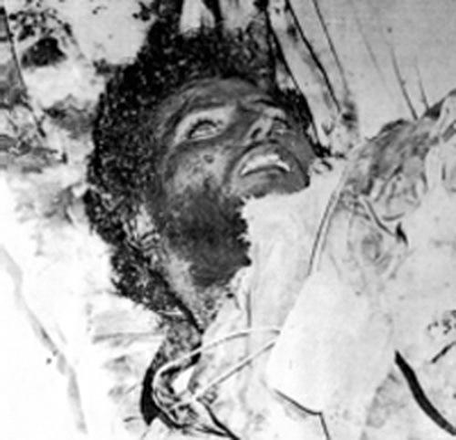 Мохаммед аль-Кахтани. Единственная фотография, сделанная в морге, декабрь 1979 года - Явление Махди | Warspot.ru
