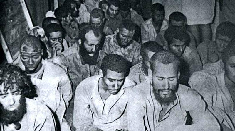 Взятые в плен боевики Джухаймана, 1979 год - Явление Махди | Warspot.ru