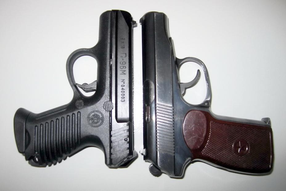 ?Пистолет П-96М под «макаровский» патрон 9?18 мм в сравнении с пистолетом Макарова (http://forum.guns.ru) - Оружие последнего шанса | Warspot.ru