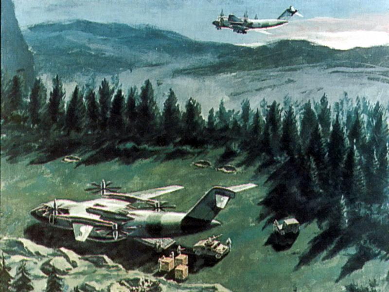 Вариант конвертоплана McDonnell Douglas ATTMA, 1988 год - Специальный самолёт для специальных людей | Warspot.ru