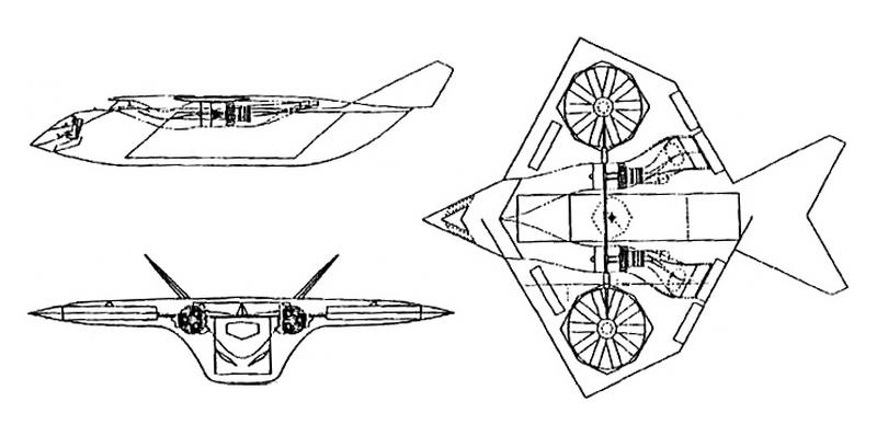 Проект Lockheed SOFA, финальный вариант, 1990 год - Специальный самолёт для специальных людей | Warspot.ru
