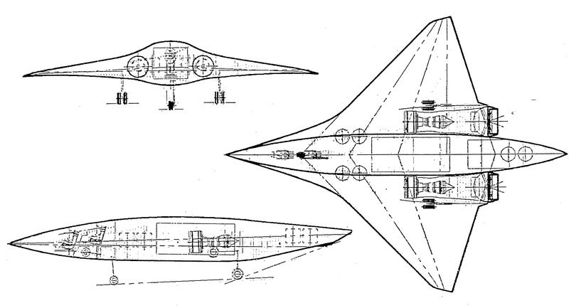 Boeing SOFA, вариант с турбореактивными подъёмными двигателями, 1988–1989 гг. - Специальный самолёт для специальных людей | Warspot.ru