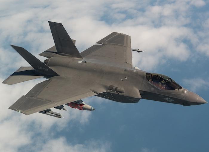 Истребитель F-35. f35.com - F-35 станет частью американской системы ПВО | Warspot.ru