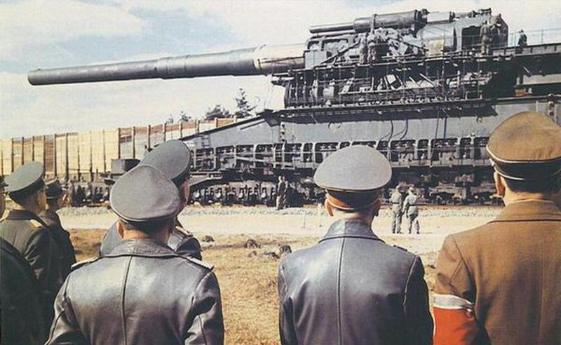 80-см пушка «Дора» - Осадная артиллерия под Ленинградом | Warspot.ru