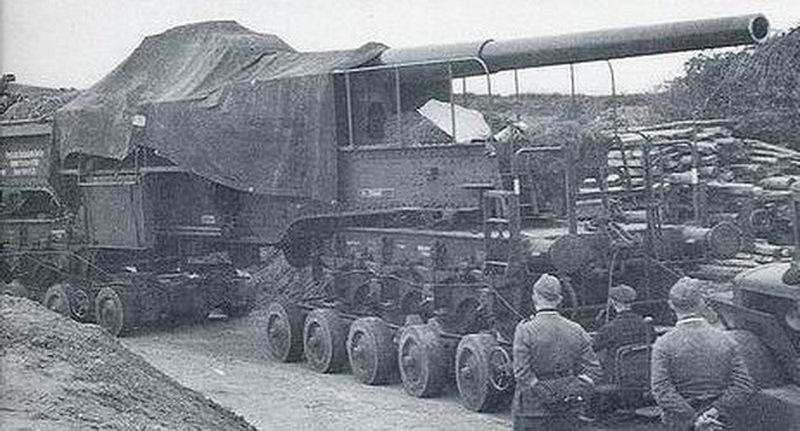 28-см пушка К5 - Осадная артиллерия под Ленинградом | Warspot.ru