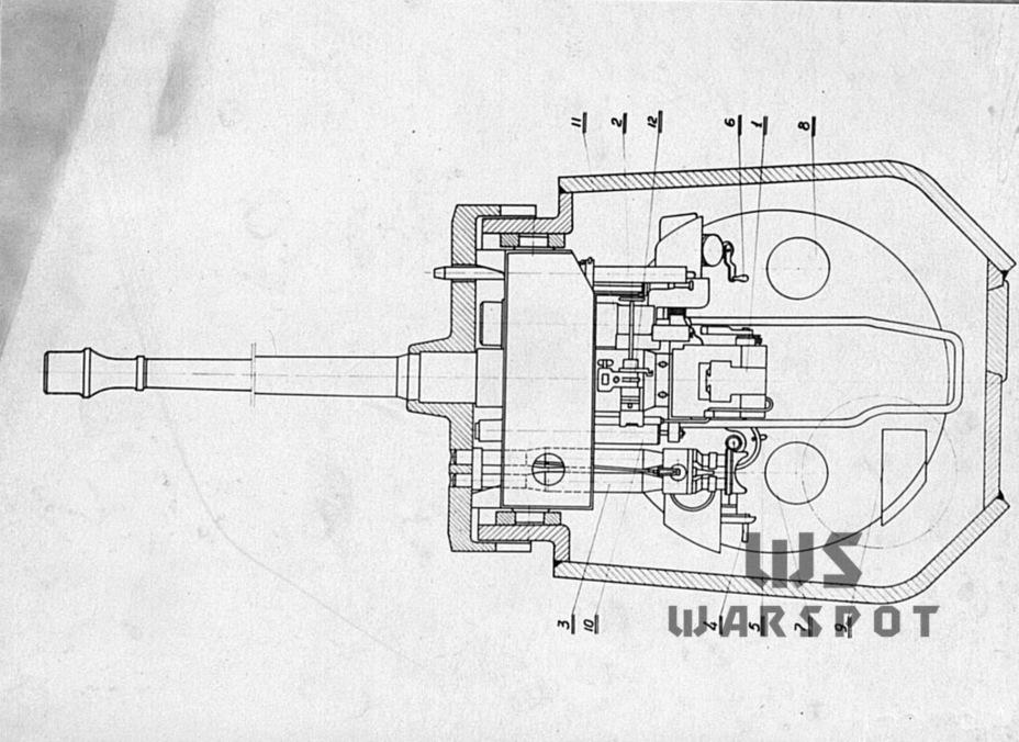 Схема боевого отделения Pz.Kpfw.Panther. В нём было довольно тесно - Страшнее кошки зверя нет | Warspot.ru