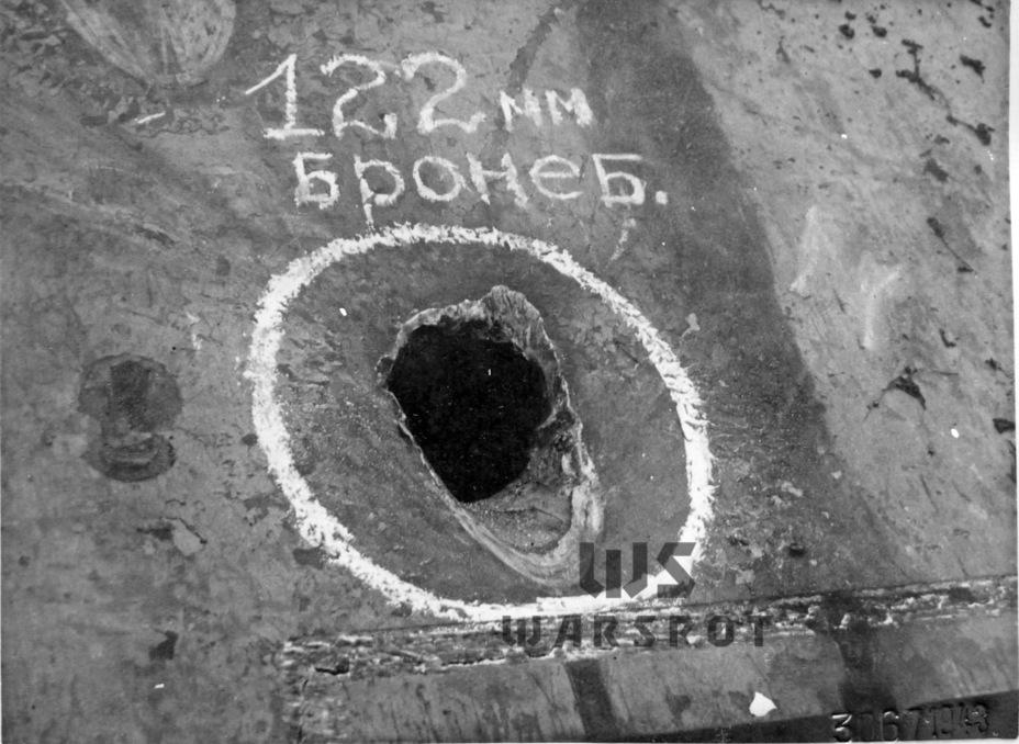 Пробитие лобовой части корпуса «Пантеры» бронебойным снарядом Д-25Т с дистанции 1400 метров - Страшнее кошки зверя нет | Warspot.ru