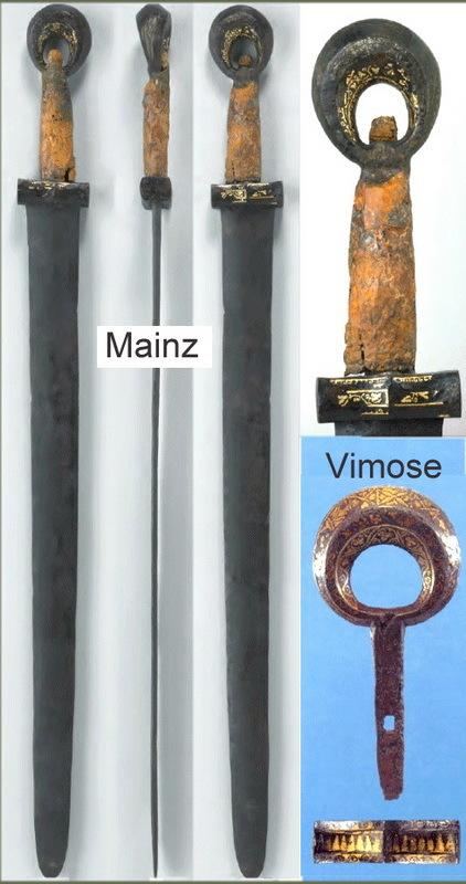 Мечи с кольцевидным навершием из Майнца и Вимоса - Северные варвары среди римлян | Warspot.ru