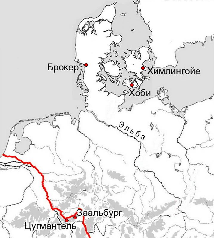 Дания и граница Римской империи - Северные варвары среди римлян | Warspot.ru