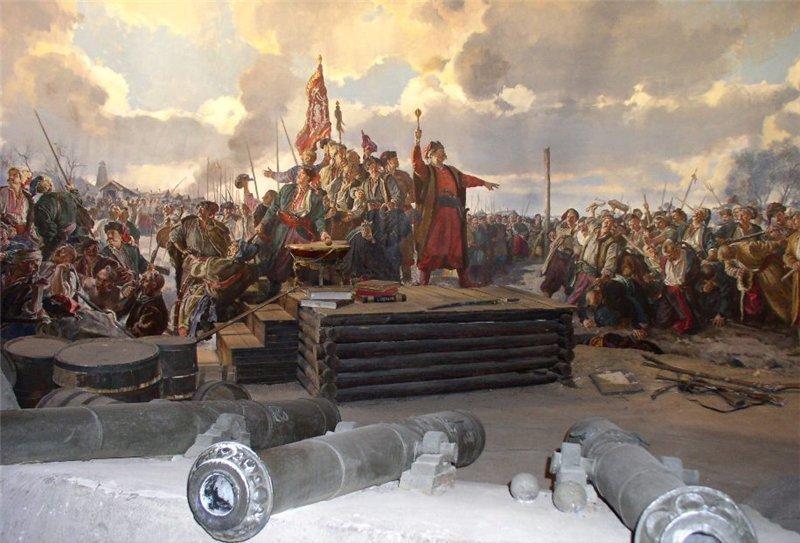 Казацкая рада, современное изображение. lybovw.blogspot.com.by - Второй год Хмельниччины: тревожный мир | Warspot.ru