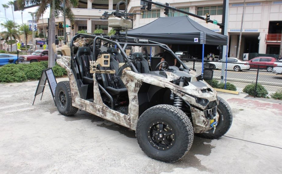 ​Универсальная машина Reckless UTV. armyrecognition.com - Reckless UTV: электробагги для спецназа | Warspot.ru