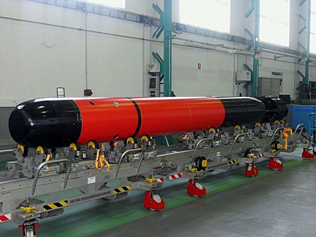 Прототип торпеды F21. navyrecognition.com - F21: тест пройден | Warspot.ru