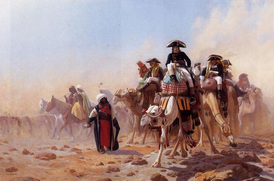 Бонапарт в Египте. Жан-Леон Жером, 1863 год - Вода на войне | Warspot.ru