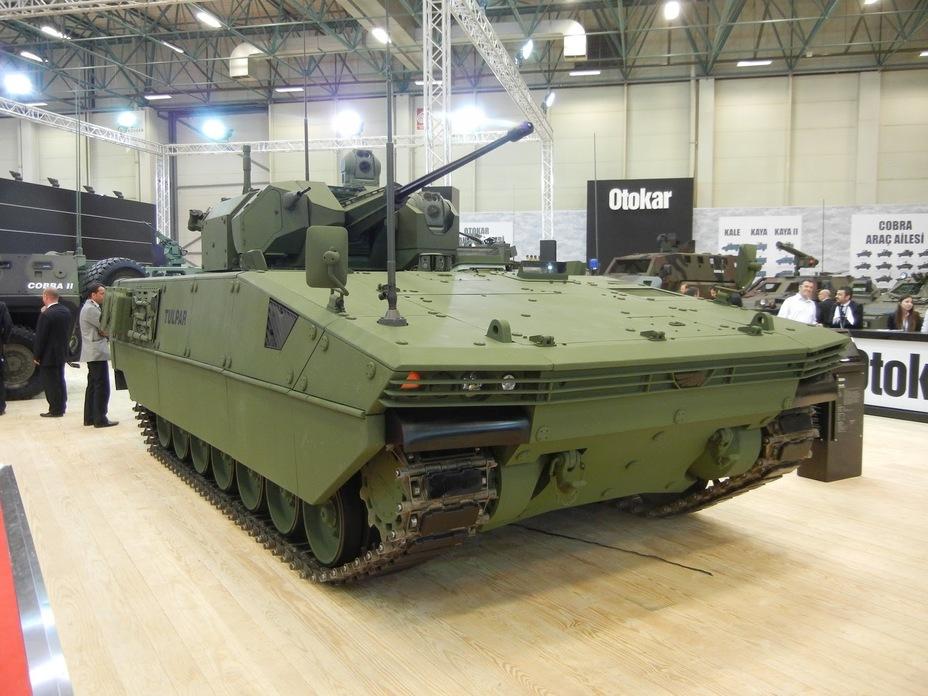 БМП Tulpar с 30-мм пушкой. defence-blog.com - Tulpar: пополнение в семействе лёгких танков | Warspot.ru
