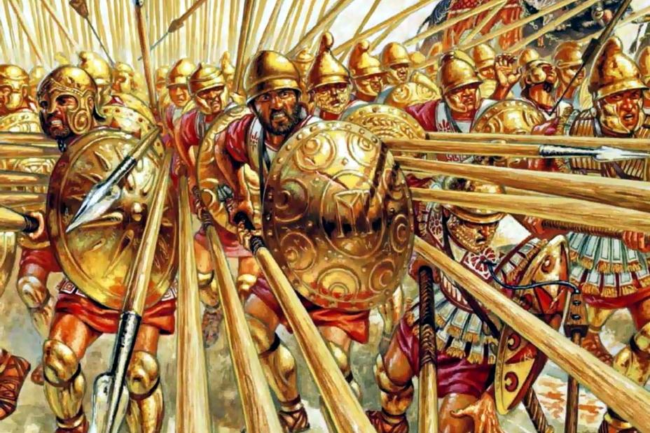 Македонская фаланга в бою - Пирр: авантюрист, полководец, правитель | Warspot.ru