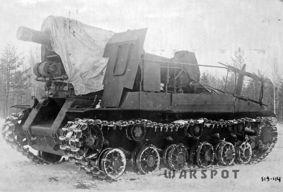 С-51 в походном положении - Крупнокалиберные кабриолеты | Warspot.ru