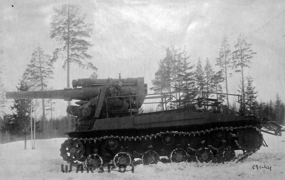 С-51 в боевом положении, Гороховецкий АНИОП, начало марта 1944 года - Крупнокалиберные кабриолеты | Warspot.ru