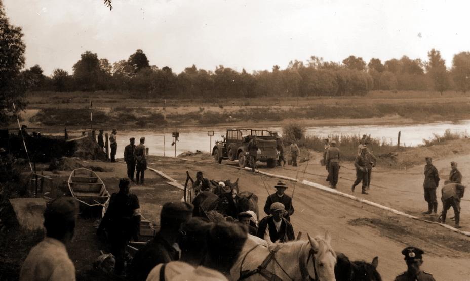 На переправе 257-й пехотной дивизии вермахта через Сан у Ярослава - Нестандартное 22 июня | Warspot.ru