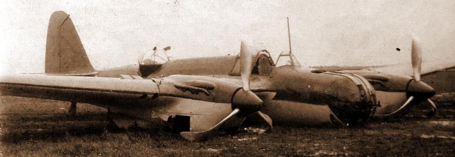 ?Вероятно, так 26 июня 1941 года выглядели бомбардировщики 99-го СБАП. На фото авария СБ 2М-103 с заводским №18/315, произошедшая 12 октября 1940 года - «Бить танки противника до полного их уничтожения…» | Warspot.ru
