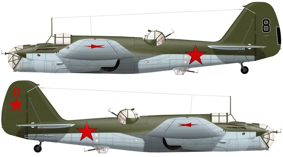 ?Реконструкция внешнего вида бомбардировщиков СБ из 128-го СБАП - «Бить танки противника до полного их уничтожения…» | Warspot.ru