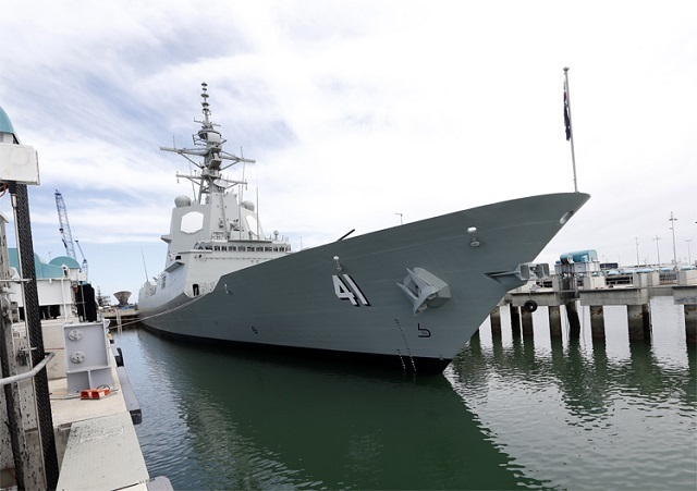 ​Эсминец Brisbane. navyrecognition.com - Brisbane встал в строй | Warspot.ru