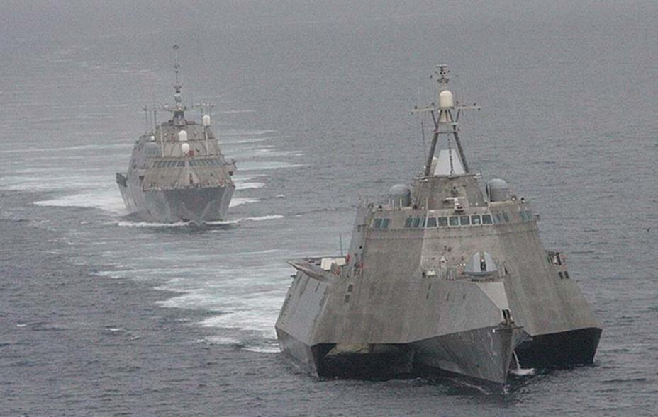 Патрульные корабли типа LCS. usni.org - Американские ВМС покупают пять проектов фрегатов | Warspot.ru