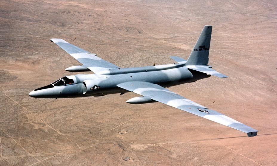 Lockheed U-2C в полёте, 1975 год - «Стелс»: первые пять лет | Warspot.ru