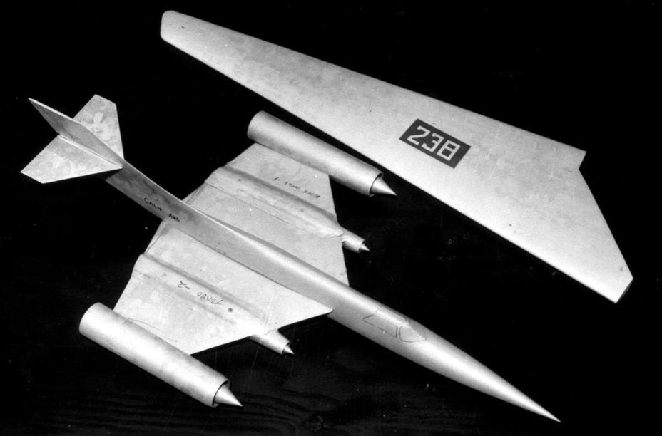 Продувочная модель Archangel 3-10, 1958 год - «Стелс»: первые пять лет | Warspot.ru
